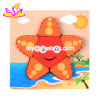 New Hottest 3D Sea Star Wooden Shape Puzzle for Toddlers Preschool W14D045
