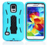 Hybrid Rubber Rugged Combo Matte Case for Samsung I9600