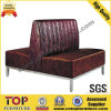 Hotel Leather Restaurant Dining Sofa
