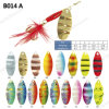 Colorful Mentle Spinner Fishing Lure