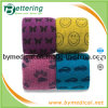 Printed Veterinary Flexible Cohesive Bandage Wrap