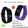 Bluetooth 4.0 Smart Bracelet with OLED Display (D21)