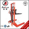 2017 Factory Price 1ton Manual Hydraulic Straddle Leg Hand Stacker