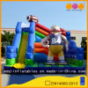 American Football Theme Inflatable Fun City Slide (AQ01567)