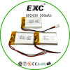 602439 500mAh Lithium Polymer Battery in Shenzhen