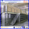 Metallic 2-3 Floors Warehouse Storage Mezzanine Racking with CE Cert