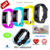 Smart Silicone Bracelet with Heart Rate and Blood Pressure Monitor