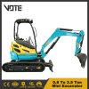 New Ce Certification Hydraulic Mini Crawler Excavator Compact Micro Digger 0.8ton 1ton 2ton 3ton 4ton 5ton 6ton 7ton 8ton 9ton 10ton Prices