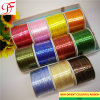 Manufacture Top Quality Double/Single Sided Satin Grosgrain Raso/Lint/Band/Ribbon with Metallic Edge for Festival/Decoration/Wrapping/Xmas/Garments Accessories