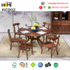 Wooden Oak Furniture Dinning Table and Chair (HCD02)