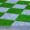 3-Tones 40mm 18 Stitches Artificial Grass Synthetic Grass Garden Grass for Home Decoration