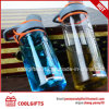Eco Friendly BPA Free Plastic Sports Water Drink Bottle with Straw