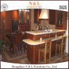 N & L Luxury Design Solid Wood Kitchen Furniture Classic Style