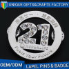 Zinc Alloy Metal Badge Custom Logo Printed Badge