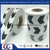 Black and White Direction Arrow Logo Reflective Sticker Tape