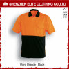 Orange Blue Safety Reflective Workwear Polo Shirt (ELTSPSI-4)