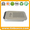 Rectangular Sliding Tin Container, Slide Tin Box, Metal Food Tin