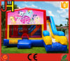 Inflatable Bouncer Combo House with Slide for Sale