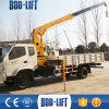Foldable Hydraulic High up Mounted Cargo Crane Truck