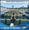 Fish Farming Cage with HDPE Frame, Fishing Net