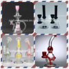 Shining Glass Small Amazing Glass Smoking Water Oil DAB Rigs