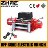 12 Volt 8500lbs Cable Drum Power Winch