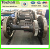 Train Forged Wheelset; 22.5taxle Load Wheel Set; Forged Axle for Railway Freight Car /Wagon