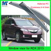 Custom Vehicle Accessories Vent Window Shade Visor for Hodna Rdx 2013