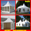 Clear Tent Transparent High Peak Gazebo Tent for 60 People Seater Guest