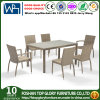 Hot Sale Outdoor Garden Patio Rattan Dining Table Set