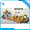 Inflatable Bouncing Castle for Children Fun City Bouncer with Slide