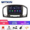 Witson Eight Core Android 9.0 Car DVD for Opel Insignia 2008-2011 Vehicle Audio Radio