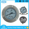 Ybf100bd 100mm 4 Inch Full Stainless Steel Pressure Gauge Manometer with Three Holes Flange