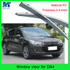 Auto Accesssories Window Visor Deflector Rain Shield for Citreon Ds4