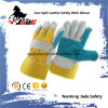 Double Palm Cowhide Split Industrial Safety Hand Leather Work Glove