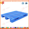 Stackable Grid Plastic Pallet Flat Warehouse Tray Pallet (ZHp13)