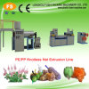 Knotless Net Mesh Extrusion Line for Bath Ball Fruit Egg Toy Packaging