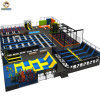 China Supplier Custom Foam Pit Climbing Slide Kids Indoor Jumping Trampoline with Safety Net