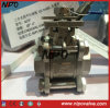 3PCS ISO-5211 Direct Mounting Pad Ball Valve