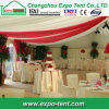 Clear Roof Wedding Tent PVC Transparent Fabric Decorated