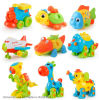 Children Animals Educational Toys Motorcycle Plastic 3D Puzzle Kids Toys Jigsaw