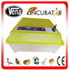 CE Approved 1 Year Warranty 48 Eggs Automatic Incubator