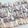 Multi-Color Natural Freshwater Baroque Cultured Pearl Strands (E190021)