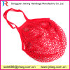 Fruit and Vegetable Cotton Net Shopping Bags with Pocket Inside