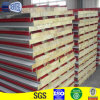 Green Color Rockwool Roofing Sandwich Panels