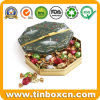 Food Grade Octagon Chocolate Tin for Festival Gift Packaging Box