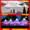 Clear Tent Transparent High Peak Pagoda Tent for 100 People Seater Guest