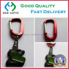 Fashion Custom Soft PVC Keyring with Caribiner Laser Engraged Logo