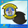 Custom PVC Rubber 3D Label Patch with Hot Hook & Loop on Back (XF-PT08)
