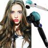 Ceramic Tourmaline Deep Waver Hair Curler Triple Barrel Curler Hair Curling Iron Dual Voltage 100V-240V Drop Shipping